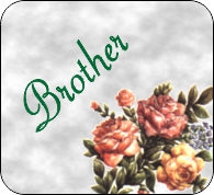 brother poems